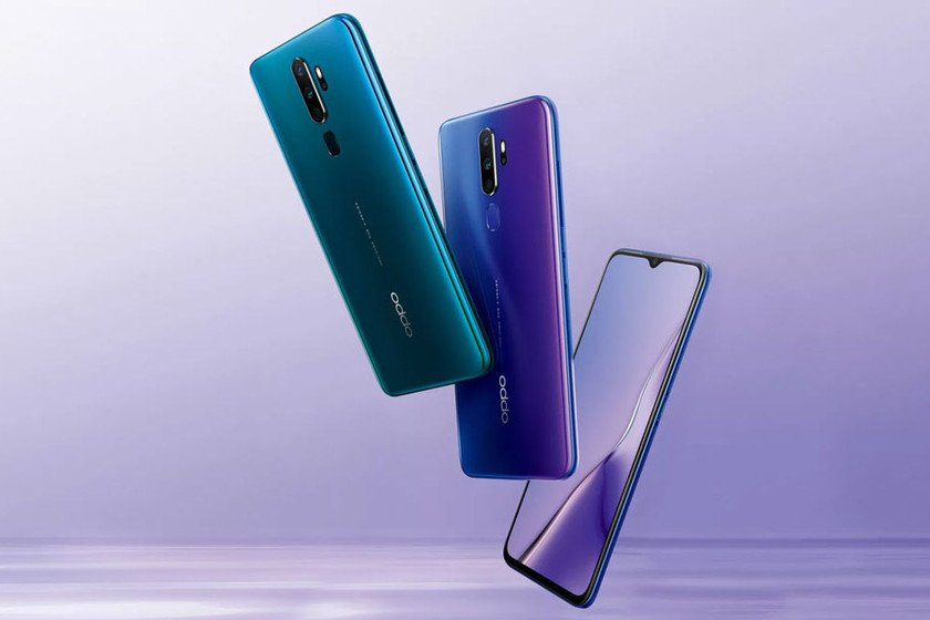New OPPO A11x: four lenses, a large battery and stereo speakers