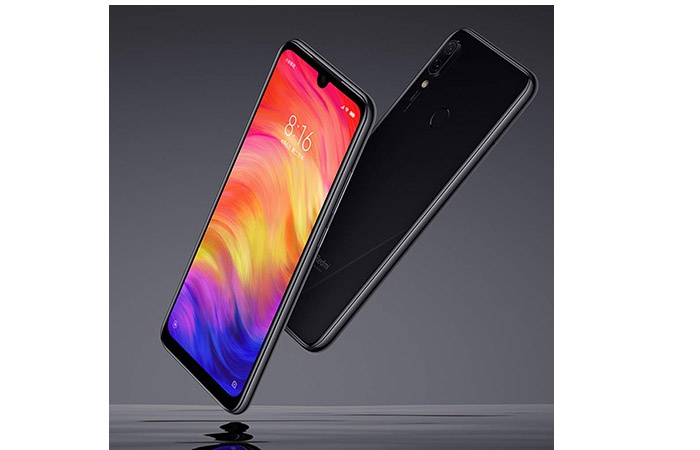 Xiaomi Redmi Note 7 front and rear