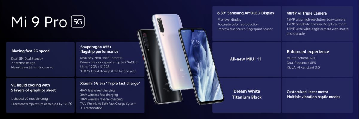 - ▷ Xiaomi Mi 9 Pro 5G is official with improvements in power, battery and more »- 4
