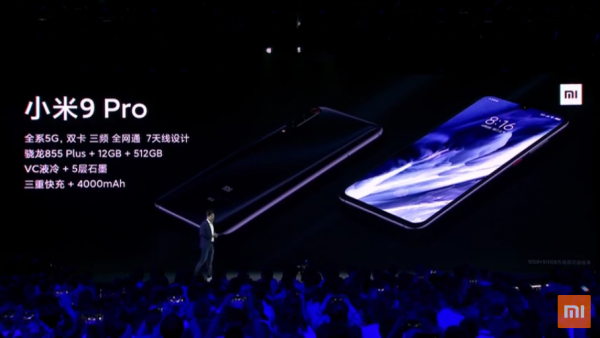 Xiaomi Mi 9 Pro 5G official: the 5G for less than € 500 6