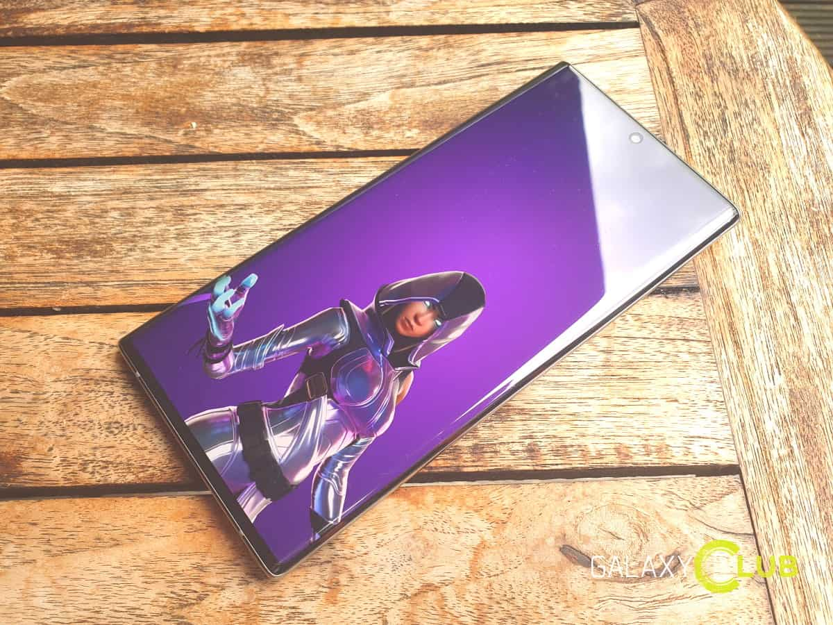 New Fornite GLOW skin for the Samsung Galaxy S10 Note 10 ...