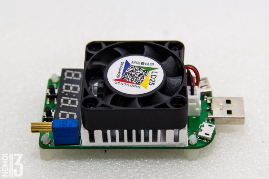 Electronic load overview with integrated RD LD25 tester: how to identify low-quality chargers 31