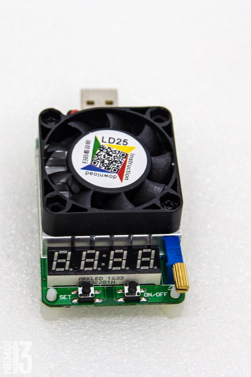 Electronic load overview with integrated RD LD25 tester: how to identify low-quality chargers 32