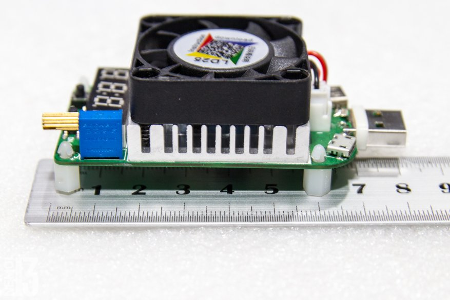 Electronic load overview with integrated RD LD25 tester: how to identify low-quality chargers 36