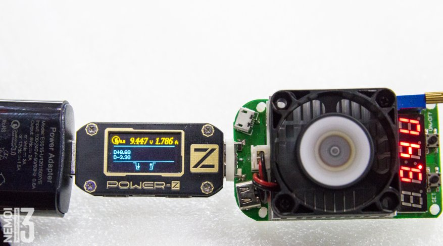 Electronic load overview with integrated RD LD25 tester: how to identify low-quality chargers 42