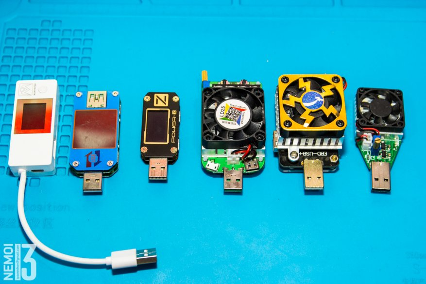 Electronic load overview with integrated RD LD25 tester: how to identify low-quality chargers 52