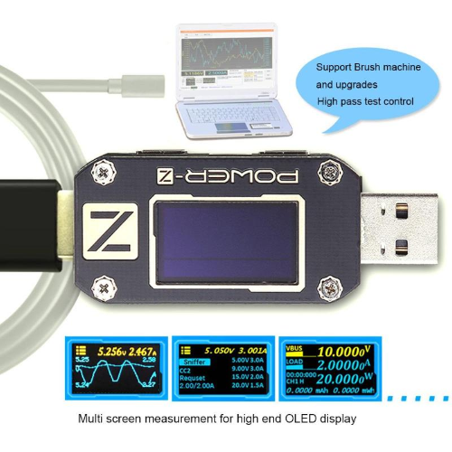 Electronic load overview with integrated RD LD25 tester: how to identify low-quality chargers 55