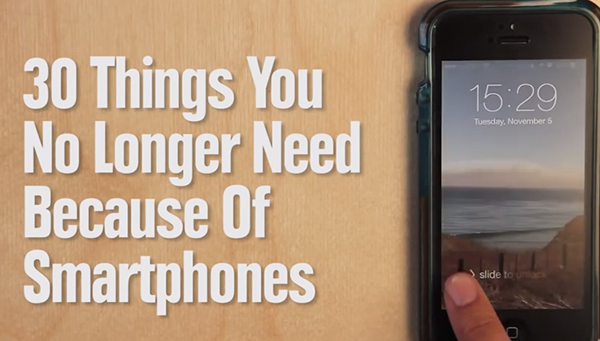 30 Things We Won't Need More Thanks to the iPhone