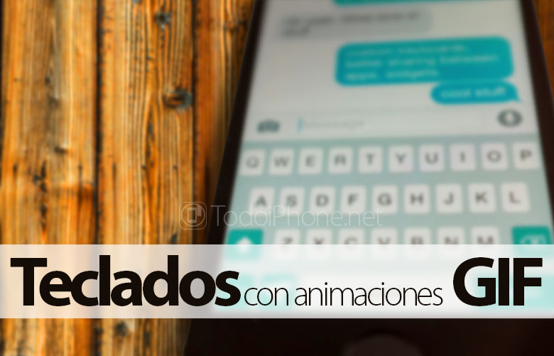4 Alternative keyboards with GIF animations for iPhone with iOS 8 3