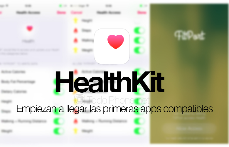Apps compatible with HealthKit start appearing in the App Store 2