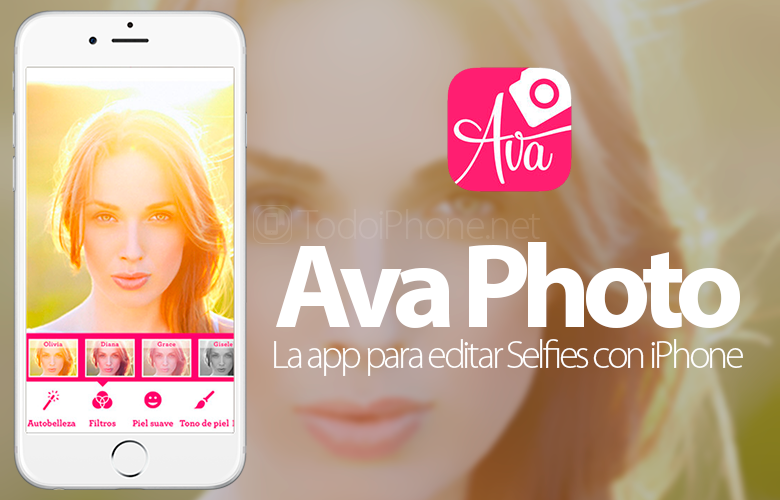 Ava Photo, the ideal app to make and retouch selfies with the iPhone 3