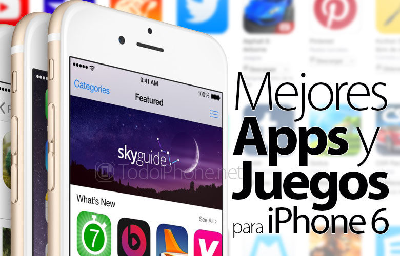 Best Apps and Games for iPhone 6, free and paid 2
