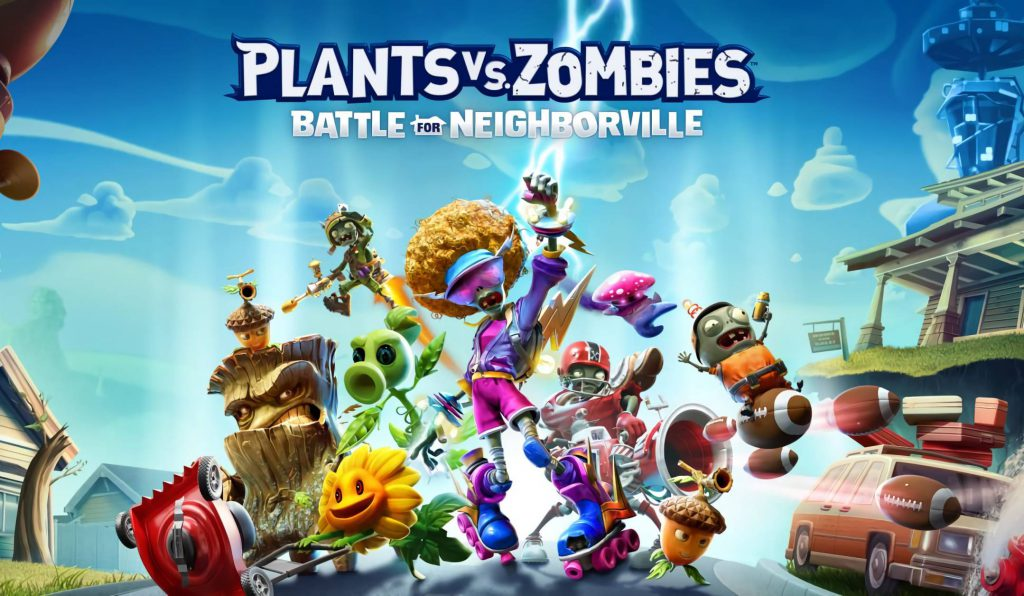Boom! Available from today Plants vs. Zombies: The Battle of Neighborville on Xbox One