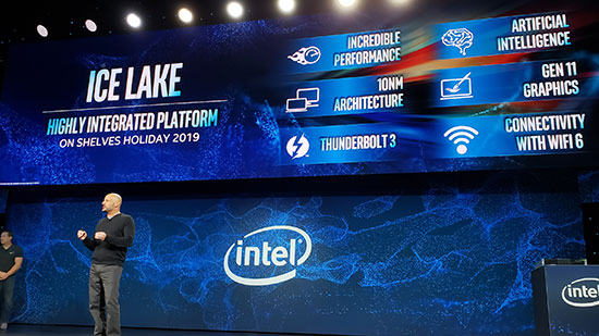 CES 2019: Intel Ice Lake 10nm Processors Will Support Thunderbolt 3 and Wi-Fi 6 4
