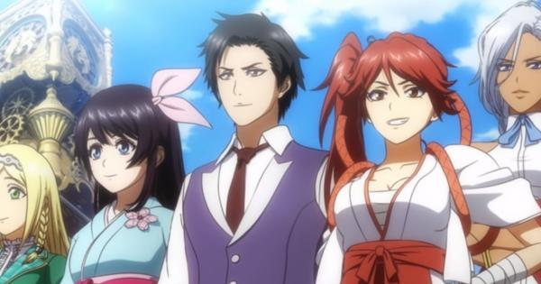 Check out the great animated start scene of Project Sakura Wars