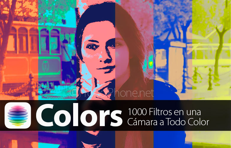 Colors, the app that brings 1000 filters for the iPhone 3