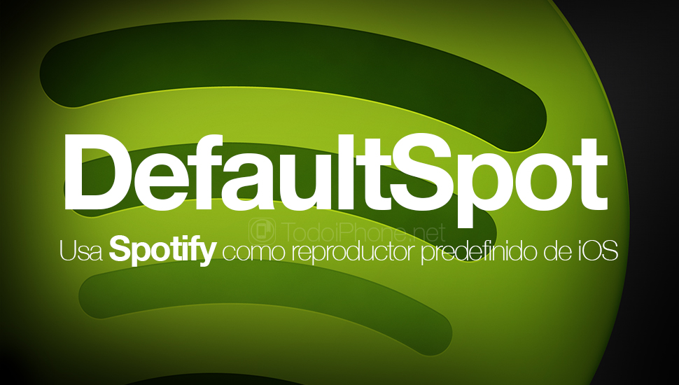 DefaultSpot uses Spotify as a predefined iOS player 5