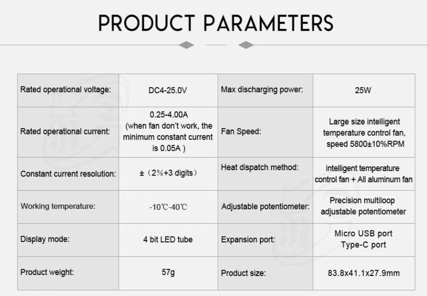 Electronic load overview with integrated RD LD25 tester: how to identify low-quality chargers 30