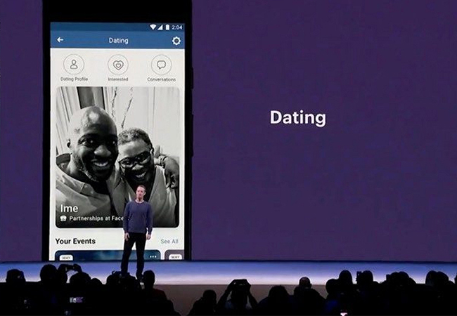 So is Facebook Dating, the dating app of Facebook.