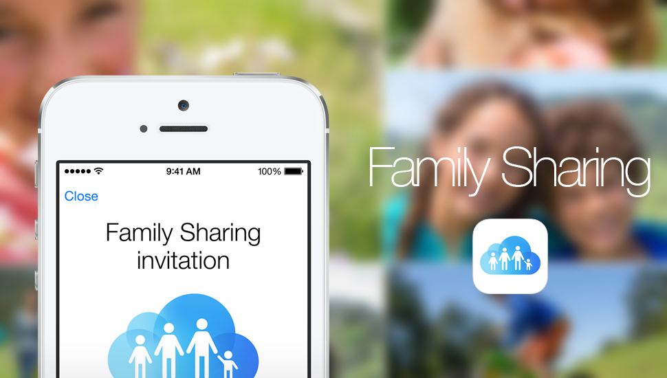 Familiy Sharing, a new feature of iOS 8 for content sharing 2