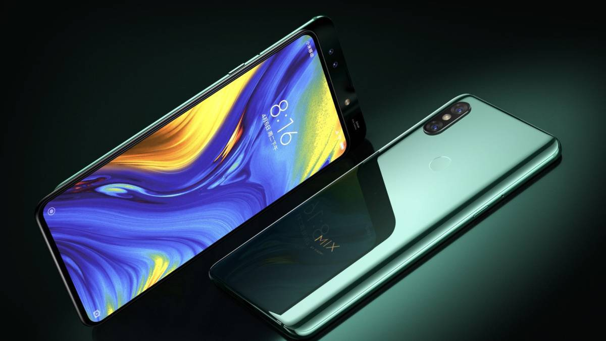 Filtered the processor and camera of the Xiaomi Mi Mix 4 1