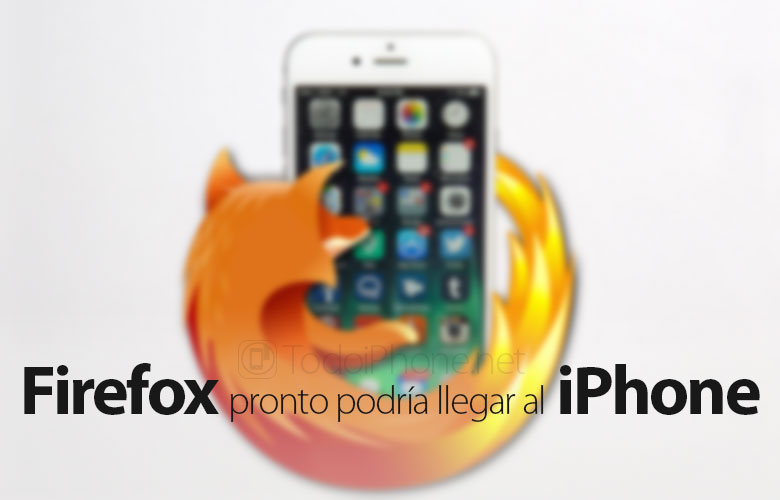 Firefox prepares to reach the iPhone 2