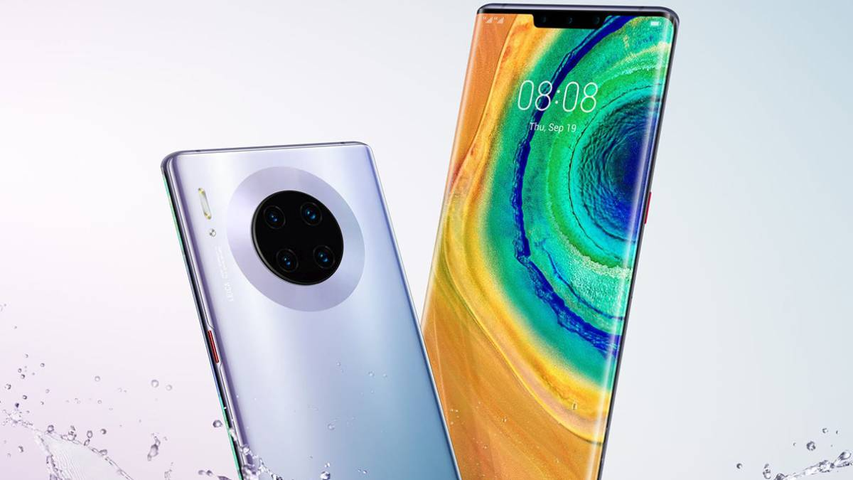 Follow the presentation of Huawei Mate live 1