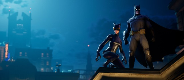 Fortnite creates thematic event with skins and weapons in celebration of Batman's 80th birthday 3