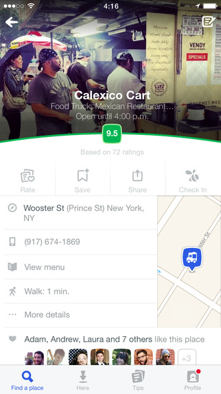 Foursquare is now also compatible with iPad Air, iPad and iPad mini 6
