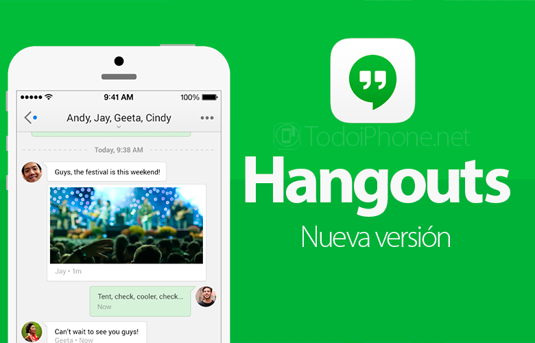 Google Hangouts is now compatible with iPhone 6 and iPhone 6 Plus 2
