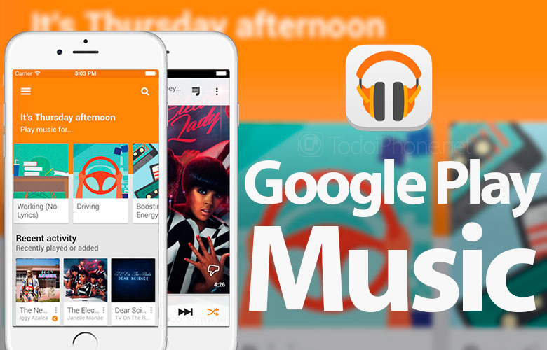 Google Play Music is updated for iOS 8 and adds several new features 3