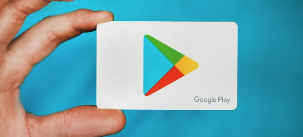 Google Play will play the videos automatically
