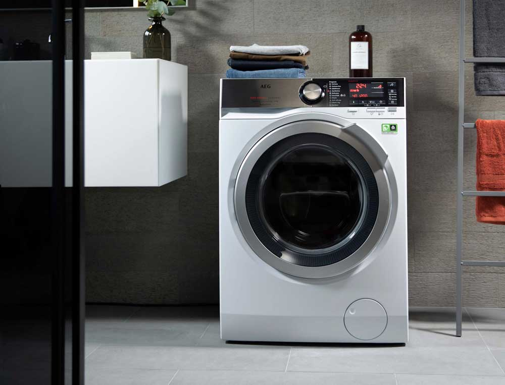 Guess how long it takes the washer dryer AEG 9000 to wash and dry