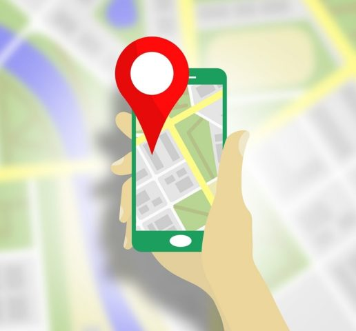 Location on a smartphone