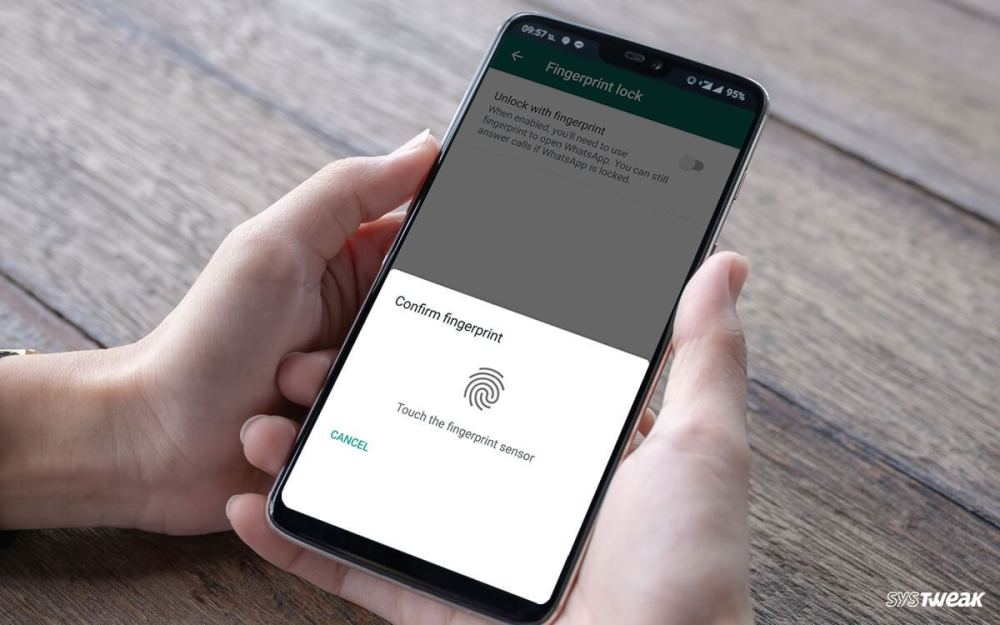 How to block your WhatsApp with fingerprint so that nobody reads your conversations?