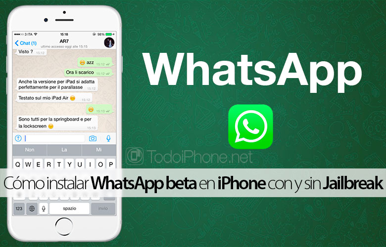 How to install WhatsApp beta on iPhone with and without Jailbreak 3