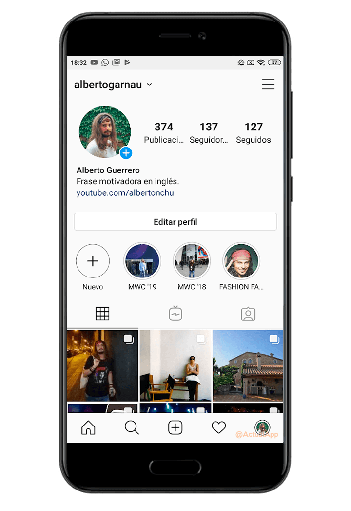 How to log in to multiple accounts Instagram with your main profile 4
