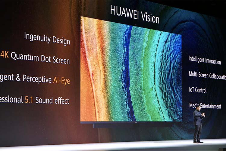 Huawei Launches the Huawei Vision TV with Pop-up Camera