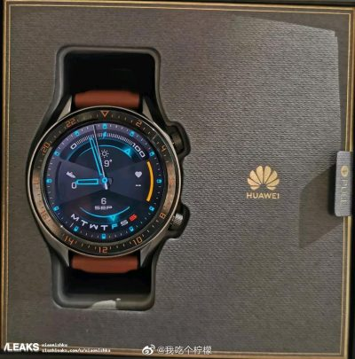 Huawei Watch GT 2: real images before launch 4