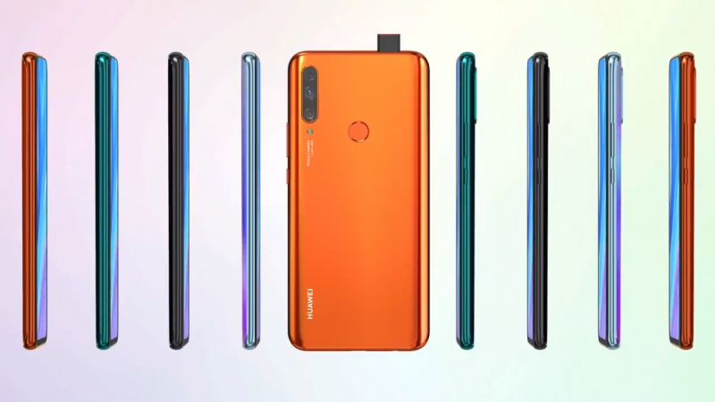 Huawei Y9 Prime: mid-range smartphone without notch with pop-up selfie camera