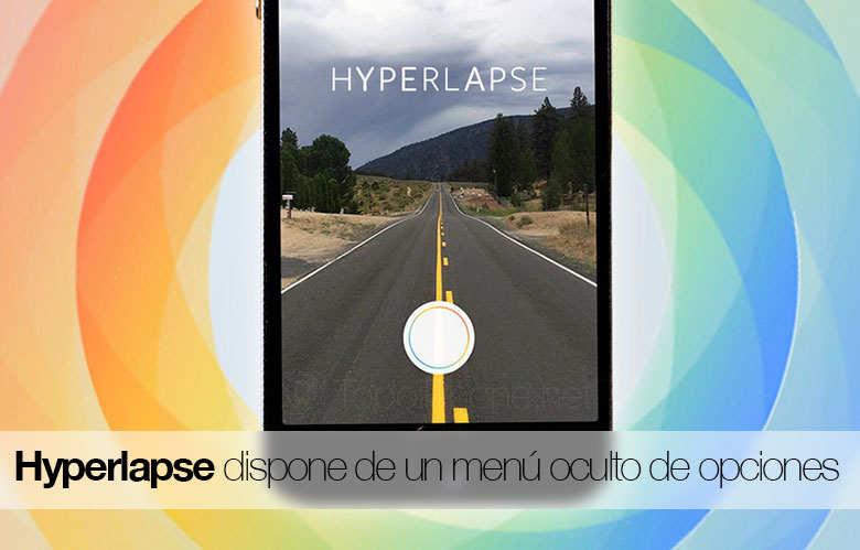 Hyperlapse has a hidden menu of options We show you how to access it! 2