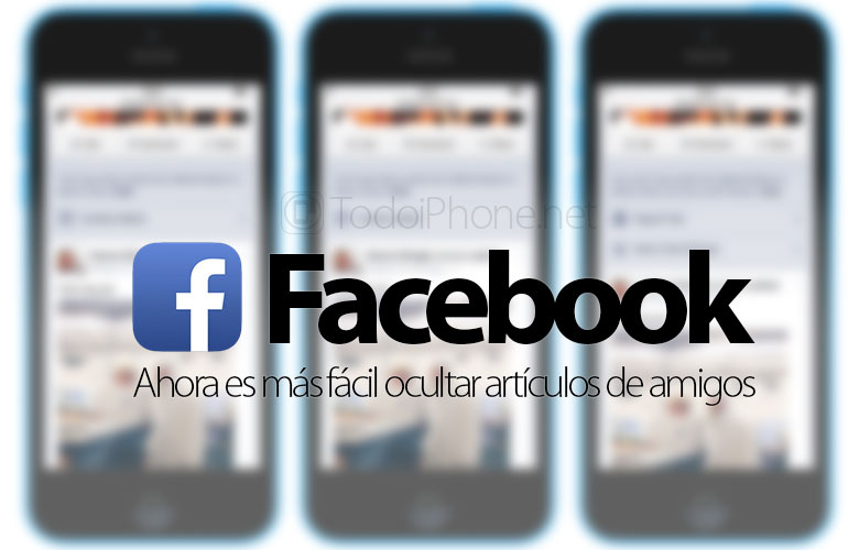 In Facebook Now it is easier to hide articles from friends 2