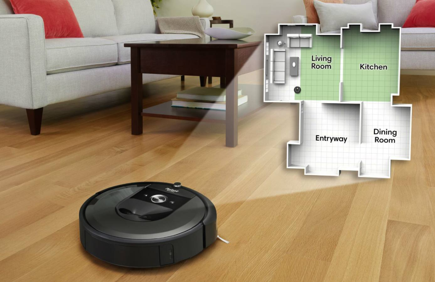 It is the object of desire, today it is birthday, and next year it will be of legal age. This is iRobot Roomba 1
