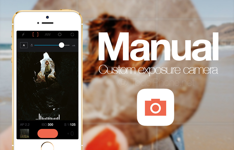 Manual, a professional photography app for iPhone 3