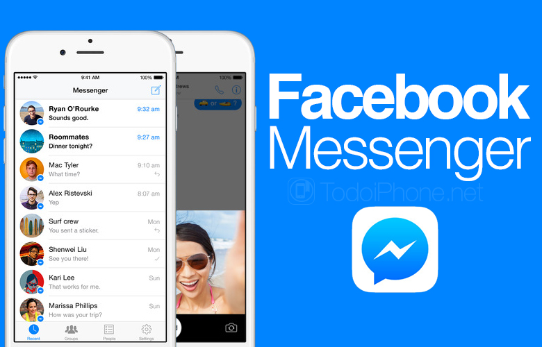Messenger is updated with news for photos and videos 3