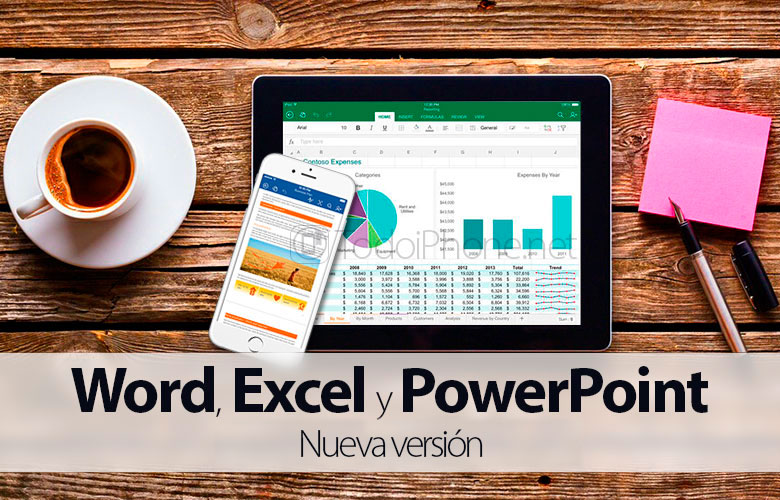 Microsoft updates Excel, Word and PowerPoint with iCloud support 3