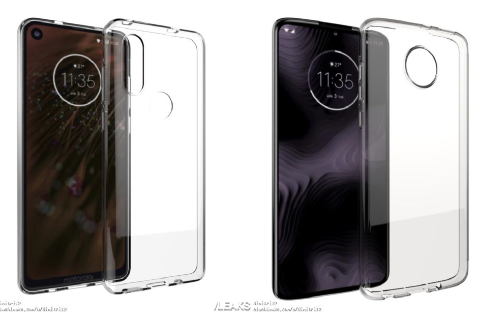New renderings of the Motorola P40 and Moto Z4 Play are filtered 8