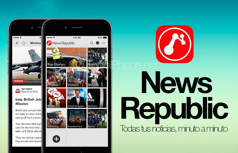 News Republic, all current news on your iPhone and iPad 2