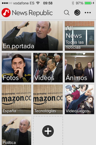 News Republic, all current news on your iPhone and iPad 3