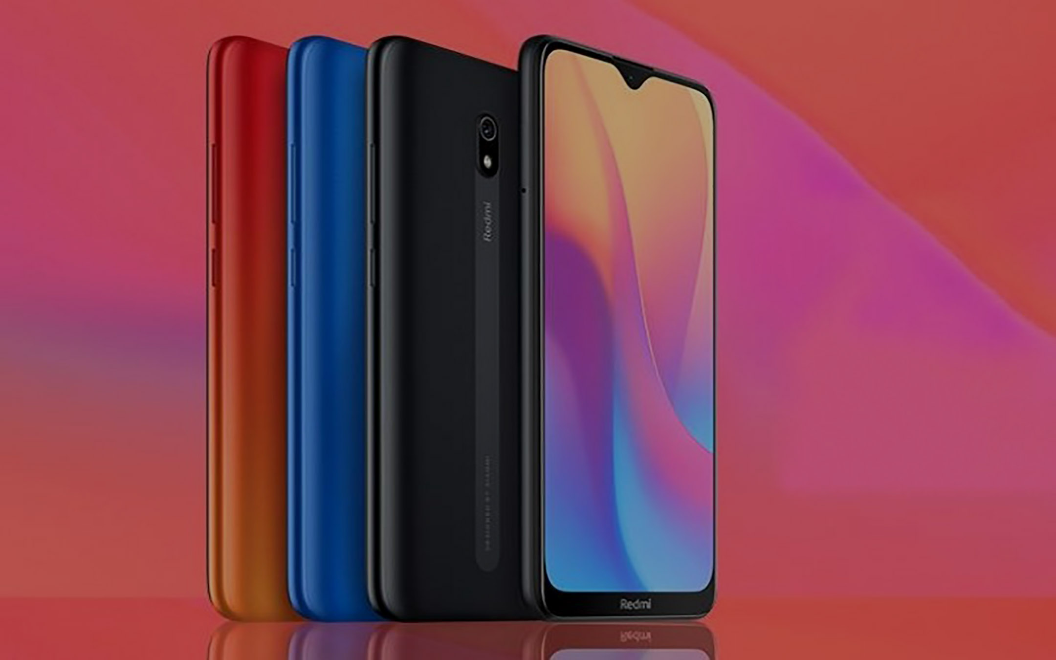 Official Redmi 8A: 5000 mAh for less than € 90 2